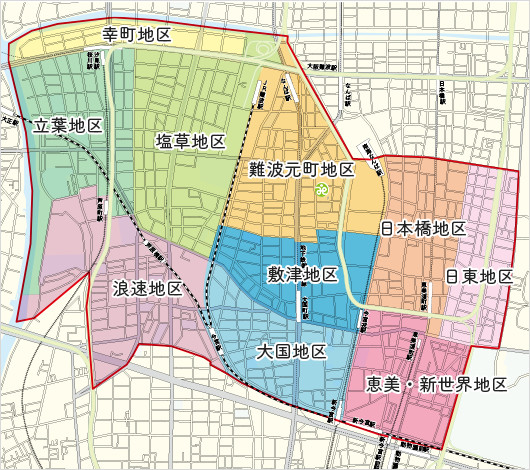 地区別マップ
